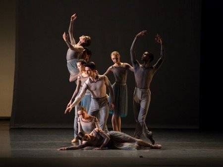 """American Ballet Theatre dancers in Jessica Lang's """"Her Notes"""" Photo Rosalie O'Connor"""