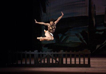 "American Ballet Theatre dancer Jeffrey Cirio in George Balanchine's ""Prodigal Son"" Photo Rosalie O'Connor"