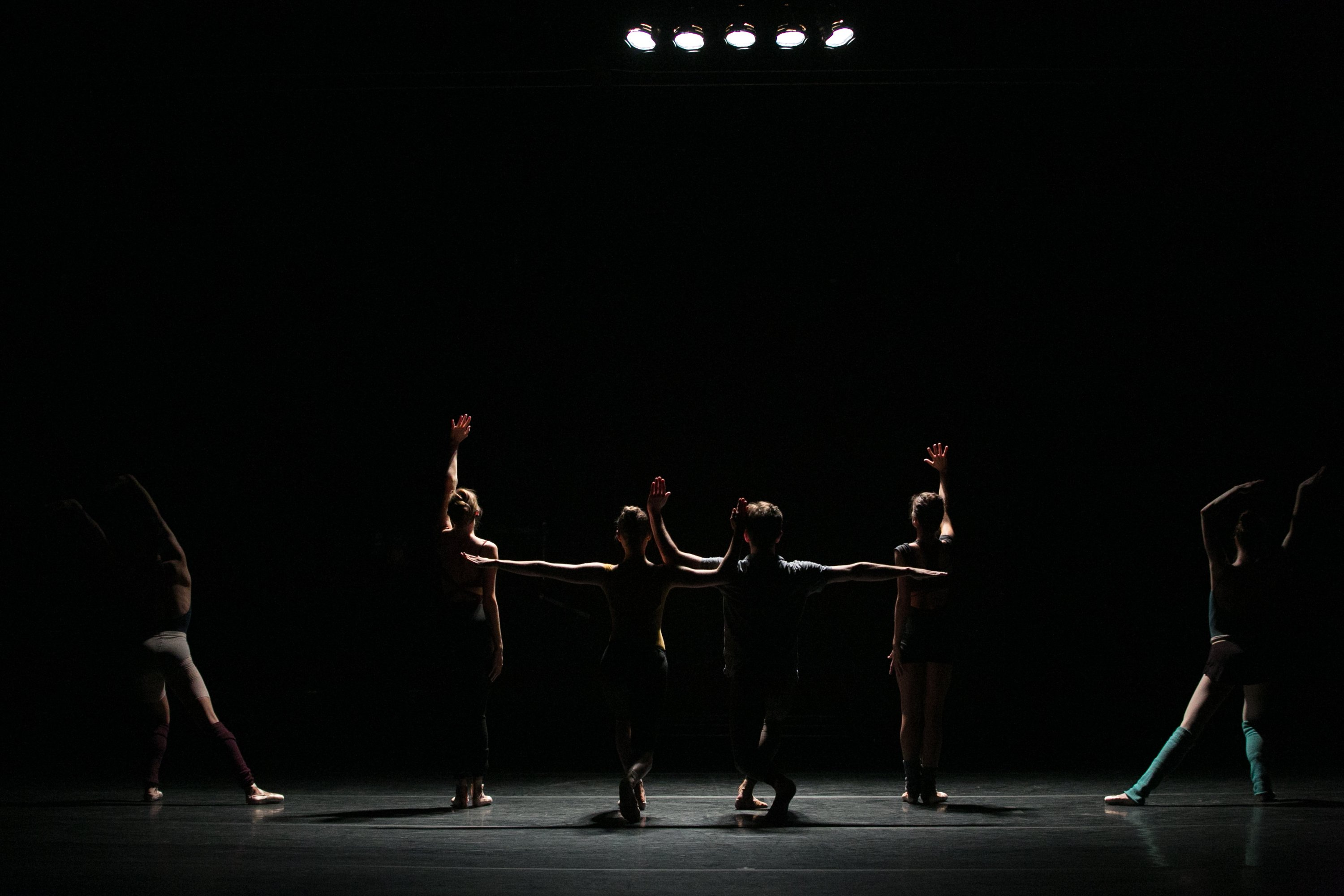 "BalletCollective dancers in Troy Schumacher's ""Until the Walls Cave In"" Photo Whitney Browne"