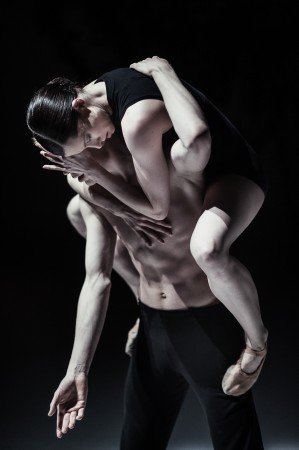 "Nederlands Dans Company dancers in ""Safe as Houses"" choreographed by Sol Leon and Paul Lightfoot Photo Rahi Rezvani"
