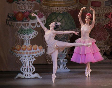 "New York City Ballet dancer Ashley Bouder in ""George Balanchine's 'The Nutcracker'"" Photo Paul Kolnik"