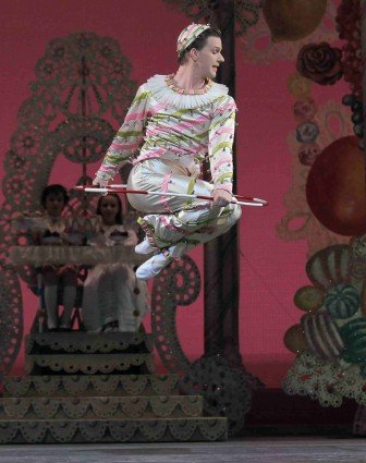 "New York City Ballet dancer Daniel Ulbricht in ""George Balanchine's 'The Nutcracker'"" Photo Paul Kolnik"