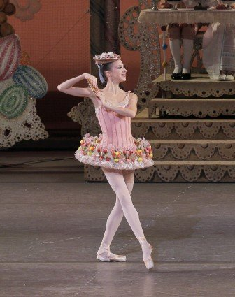 "New York City Ballet dancer Erica Pereira in ""George Balanchine's The Nutcracker'"" Photo Paul Kolnik"