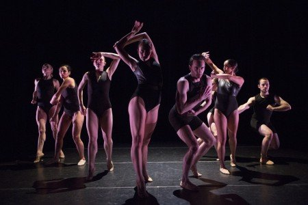 "Neville Dance Theatre dancers in Brenda R. Neville's ""Exposed"" Photo Yi-Chun Wu"