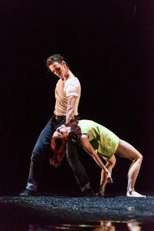 """Natalia Osipova and Sergei Polunin in Arthur Pita's """"Run Mary Run"""" Photo Bill Cooper"""