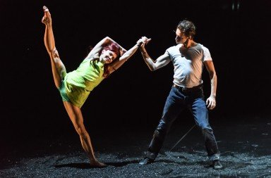"Natalia Osipova and Sergei Polunin  in Arthur Pita's ""Run Mary Run""       Photo Bill Cooper"