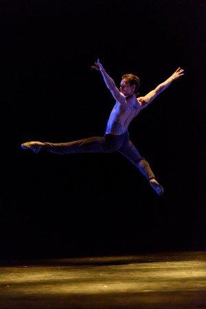 "Sergei Polunin in Russell Maliphant's ""Silent Echo"" Photo Bill Cooper"
