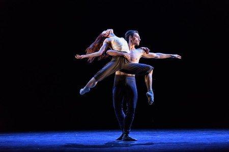 "Natalia Osipova and Sergei Polunin in Russell Maliphant's ""Silent Echo"" Photo Bill Cooper"