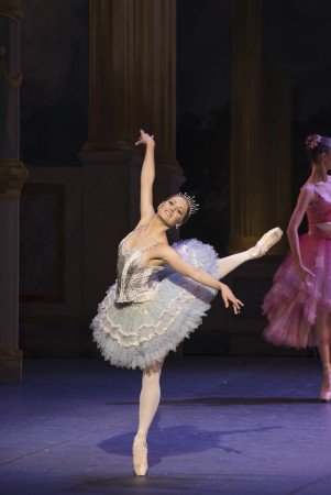 "Boston Ballet dancer Ashley Ellis in Mikko Nissinen's ""The Nutcracker"" Photo Liza Voll"