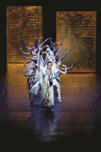 """National Ballet of China - Ma-Xiaodong in """"The Peony Pavillion"""" Photo: National Ballet of China"""