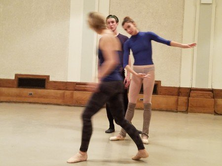 Ashley Bouder, Devin Alberda, and Ashley Hod at YAGP Special Program Ashley Bouder: Behind the Scenes Photo Jerry Hochman