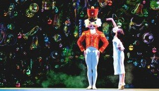 "Emily Hoff and Jeffrey Cirio  in Boston Ballet's ""The Nutcracker""    Photo by Sabi Varga"