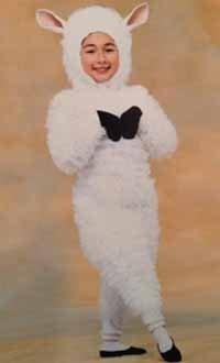 "Jordan Lally in lamb costume in Boston Ballet's ""The Nutcracker"" Photo by Kim Kenney"