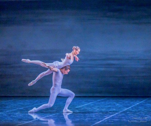 "Estonian National Ballet ""Song of the Earth"" Luana Georg and Sergei Upkin Photo: Rünno Lahesoo"