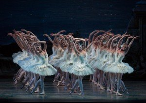 ABT's Swan Lake, The Swans, photo by Rosalie O'Connor