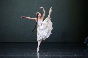 Anastasia Matvienko of the Mariinsky Ballet as the Tsar-Maiden in Alexei Ratmansky's The Little Humpbacked Horse, photo @ Natasha Razina