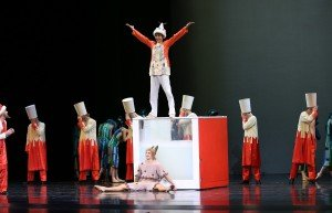 Scene from Alexei Ratmansky's The Little Humpbacked Horse, Mariinsky Ballet, photo @ Natasha Razina