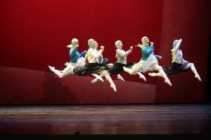 The wet nurses in Alexei Ratmansky's The Little Humpbacked Horse, Mariinsky Ballet, photo @ Natasha Razina