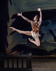 "Anthony Huxley of New York City Ballet in George Balanchine's ""Prodigal Son"" Photo by Paul Kolnik"