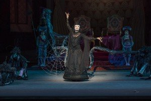 "New York City Ballet dancer Sara Mearns in Peter Martins's ""The Sleeping Beauty"" Photo by Paul Kolnik"
