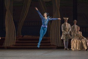 "New York City Ballet dancer Spartak Hoxha in Peter Martins's ""The Sleeping Beauty"" Photo by Paul Kolnik"