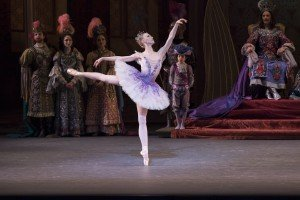 "New York City Ballet dancer Teresa Reichlen in Peter Martins's ""The Sleeping Beauty"" Photo by Paul Kolnik"