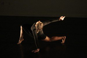 "Maja Bakija in ""Finding It There"" Photo by Rebecca Bitner"
