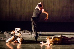 "Members of Whim W'him in ""Catch & Release"" choreographed by Olivier Wevers Photo by Bamberg Fine Art"