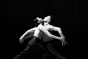"Members of Whim W'him in ""play by play"" choreographed by Penny Saunders Photo by Bamberg Fine Art"