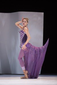 "Pacific Northwest Ballet dancer Lesley Rausch in Jean-Christophe Maillot's ""Cendrillon"" Photo by Angela Sterling"