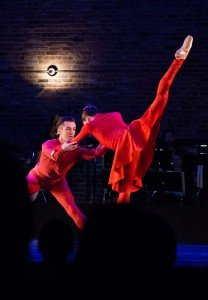 """Ashley Hod and Devin Alberda in Ashley Bouder's """"In Pursuit Of"""" Photo by Diana Mino"""