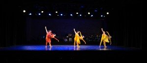 """(l-r) Ashley Hod and Devin Alberda, Laine Habony and Spartak Hoxha, and Indiana Woodward and Ghaleb Kayali in Ashley Bouder's """"In Pursuit Of"""" Photo by Diana Mino"""