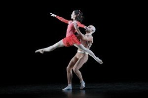 "Eran Bugge and George Smallwood of the Paul Taylor Dance Company in Lila York's ""Continuum"" Photo by Paul B. Goode"