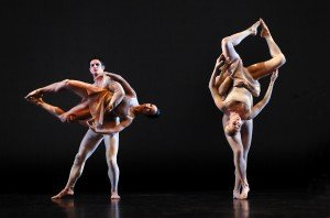 "Members of  The Paul Taylor Dance Company  in Lila York's ""Continuum"" Photo by Paul B. Goode"