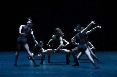 "Sydney Dance Company dancers   in Jacopo Godani's ""Raw Models""      Photo by Wendell Teodoro"