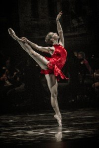 "City Opera Ballet dancer in Jennifer Porter's ""Firebird"" Photo courtesy of City Opera Ballet"