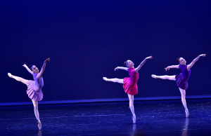 "Mary Elizabeth Sell, Kristen Segin, and Courtney Nitting of Tom Gold Dance in ""Served"" Photo by Eugene Gologursky"
