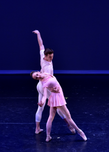 "Alynne Noelle and Thomas Garrett of Tom Gold Dance in ""Served"" Photo by Eugene Gologursky"