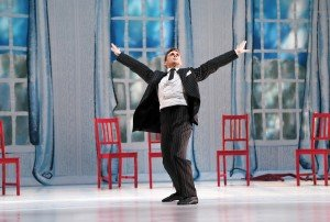 "Michael Novak of The Paul Taylor Dance Company in ""The Open Door"" Photo by Paul B. Goode"