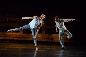 "Wendy Whelan and Brian Brooks in ""Some of a Thousand Words"" Photo by Nir Arieli"