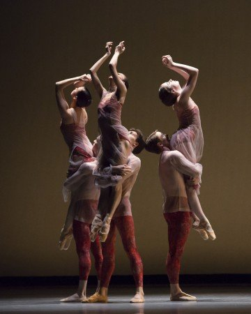 "Members of The Joffrey Ballet in Yuri Possokhov's ""Bells"" Photo by CherylMann"