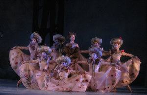 "Eugene Ballet dancers in Toni Pimble's ""The Snow Queen"" Photo by Gary Ferrington"