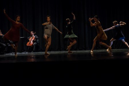 """Ballet Bellevue dancers in Laura Rodriguez's """"The Deconstructed"""" Photo by Andrew Ness"""