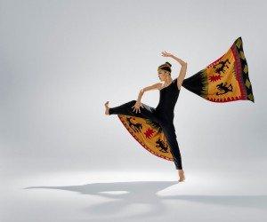 "Xin Ying in Martha Graham's ""Clytemnestra"" Photo by Hibbard Nash Photography"