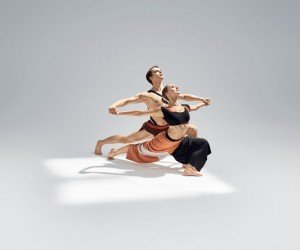 """Anne Souder and Lloyd Mayor in Martha Graham's """"Dark Meadow Suite"""" Photo by Hibbard Nash Photography"""