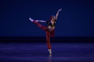 Gloria Benaglia (19) at the YAGP Final Round Photo by VAM Productions