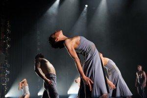 "Ballet Hispanico dancers in Tania Perez-Salas's ""3.Catorce Dieciseis"" Photo by Paula Lobo"