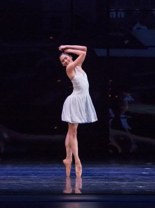 "Christine Rocas of The Joffrey Ballet in Krzysztof Pastor's ""Romeo & Juliet"" Photo by Cheryl Mann"