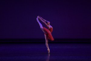 Juliette Bosco (14) at the YAGP Final Round Photo by VAM Productions