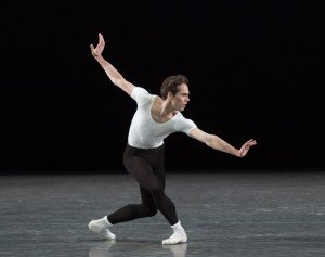 "Gonzalo Garcia in George Balanchine's ""The Four Temperaments"" Photo by Paul Kolnik"